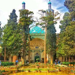 آرامگاه شاه نعمت الله ولی در ماهان-الی گشت