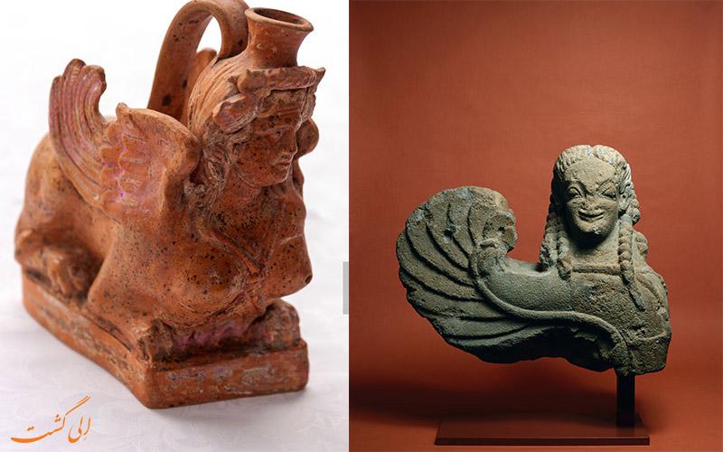 اسفنیکس ها از عجایب دنیای باستان