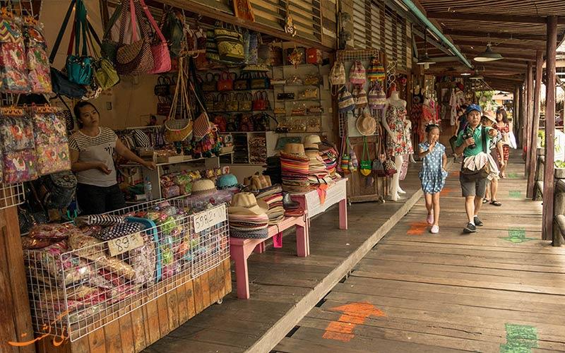 بازار شناور پاتایا و مغازه های آن