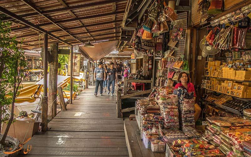 بازار شناور پاتایا-مغازه ها