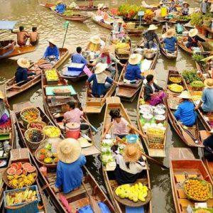 بازار شناور پاتایا-الی گشت