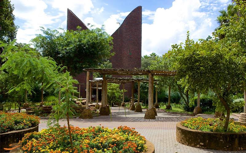 ورودی باغ وحش ملی آفریقا