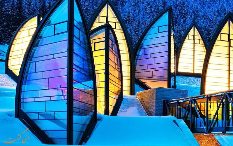 بهترین هتل های کوهستانی دنیا-تشوگان-گرند-هتل-در-آروسا-سوئیس