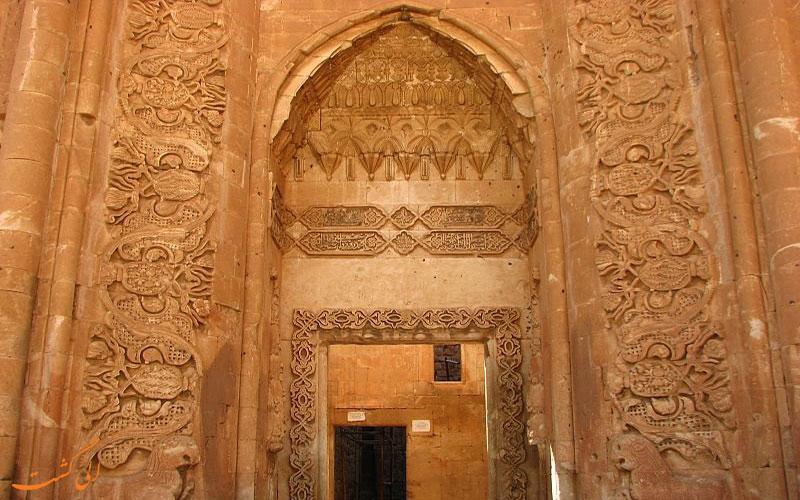 دروازه ورودی کاخ اسحاق پاشا ترکیه