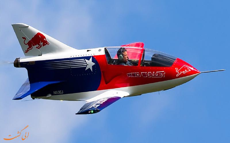 روند ساخت یک هواپیمای تک سرنشین