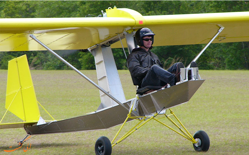 ساختار هواپیما را طراحی نمایید