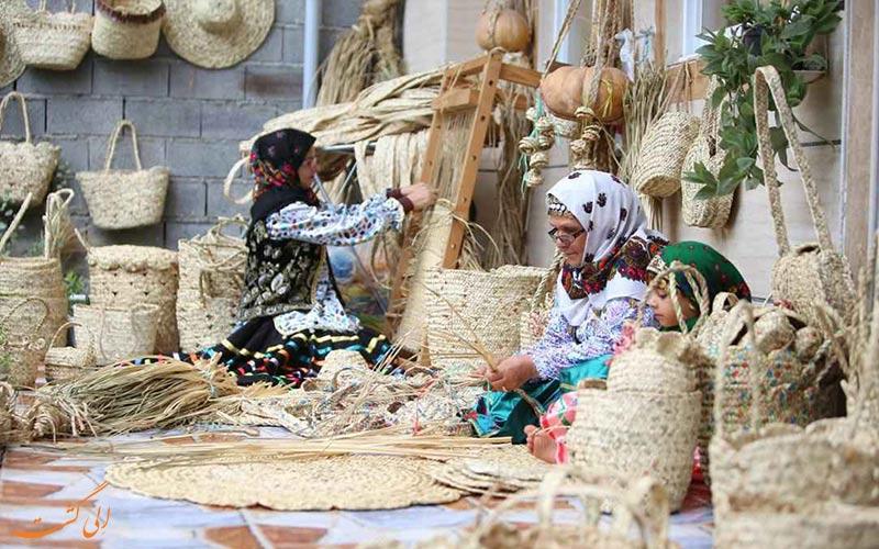 صنایع-دستی دره شهر در ایلام