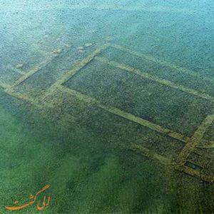 قلعه پریان یا قلعه درون دریاچه وان ترکیه-الی گشت