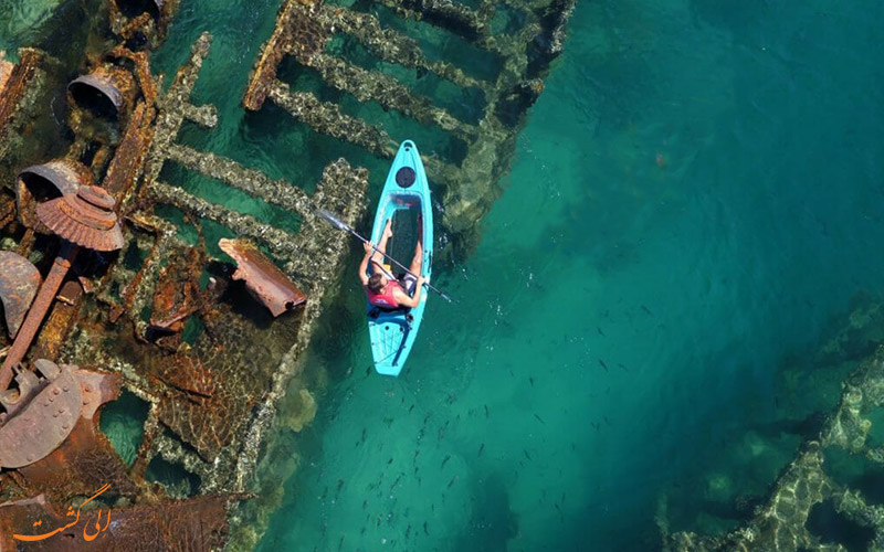 لاشه های کشتی تانگالوما استرالیا-امکانات بازدید
