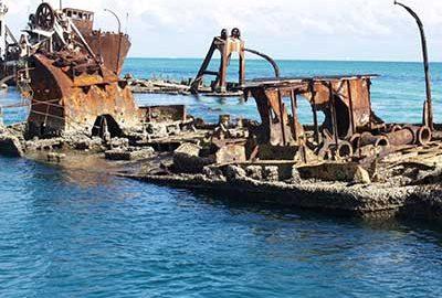 لاشه های کشتی تانگالوما استرالیا-الی گشت