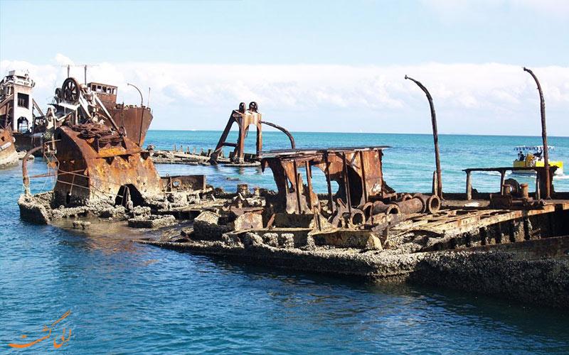 شرایط شرکت در تورهای لاشه های کشتی تانگالوما استرالیا