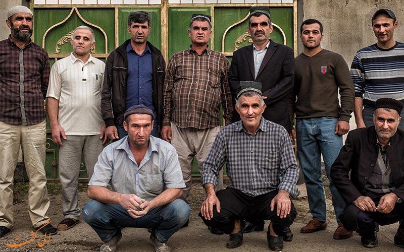 مردم یاقنوبی در دره یانقوبی تاجیکستان