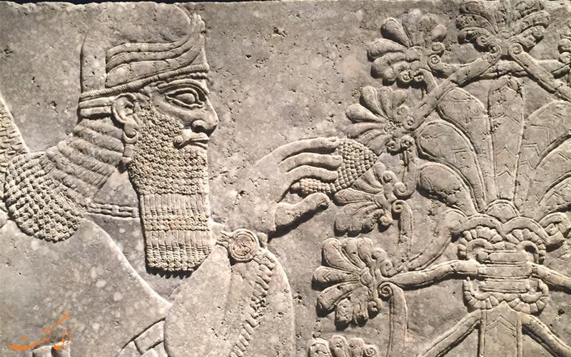 نماد باستانی مخروط کاج از عجایب دنیای باستان