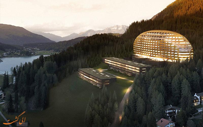 هتل اینترکنتیننتال داووس از بهترین هتل های کوهستانی دنیا