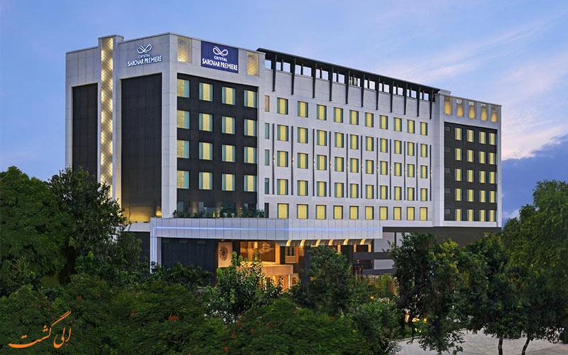 هتل کریستال سرووال پریمیر از بهترین هتل های 5 ستاره آگرا