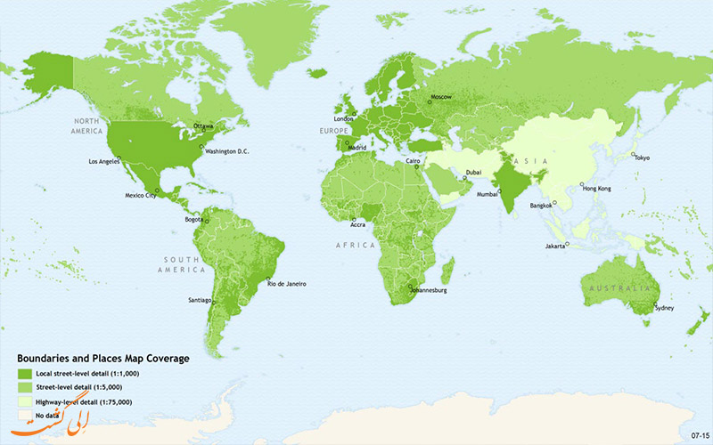 پیدایش مرز بین کشورها-نقشه مرزها