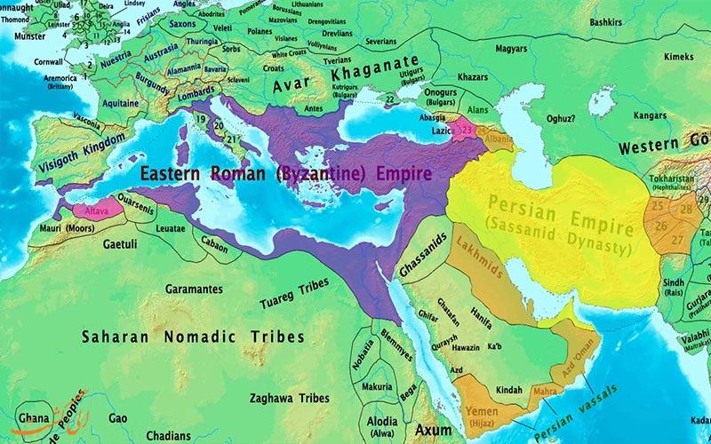 پیدایش مرز بین کشورها-تاریخچه