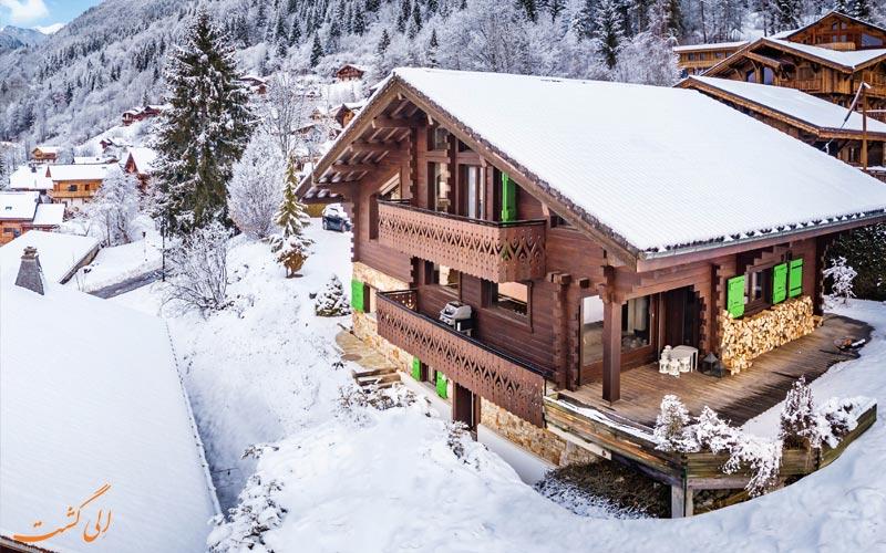 چالت هیبو در میرور فرانسه از بهترین هتل های کوهستانی دنیا
