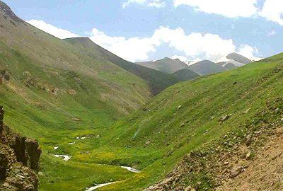 روستای لیقوان در تبریز