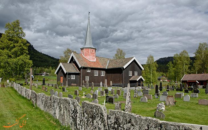 کلیسای چوبی فلسبرگ