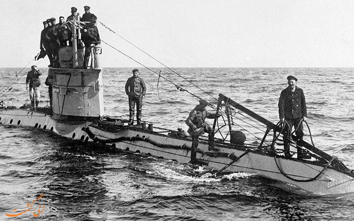 زیردریایی های یوبوت آلمانی