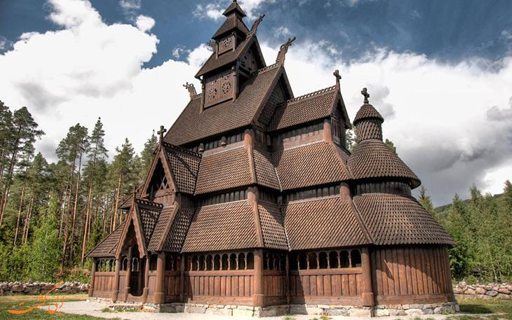 کلیسای چوبی گل
