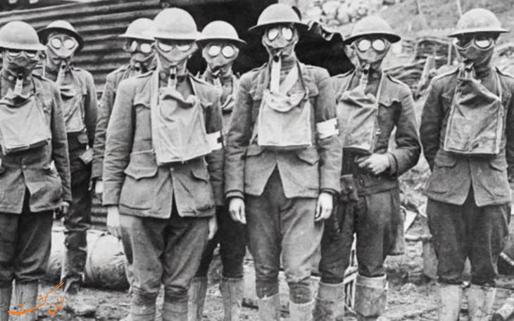 گازهای شیمیایی در جنگ جهانی اول