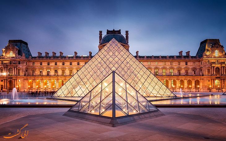 بازدید از موزه لوور فرانسه