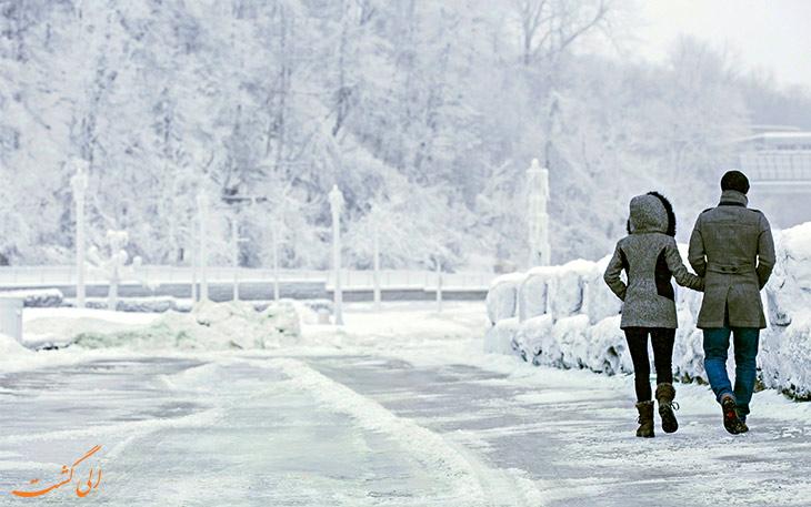 زمستان کانادا