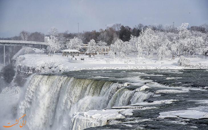 تعداد آبشارهای نیاگارا