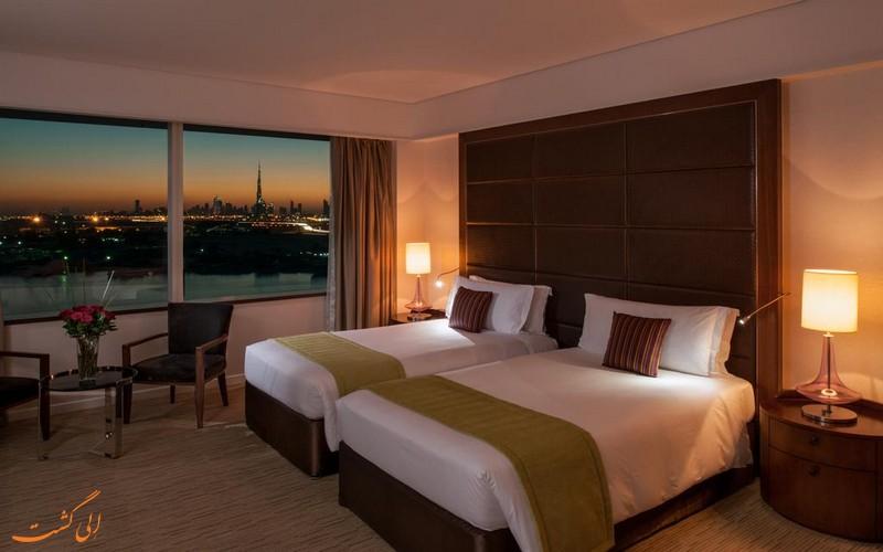 هتل 5 ستاره کرون پلازا فستیوال در دبی