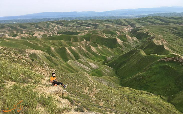 طبیعت ترکمن صحرا