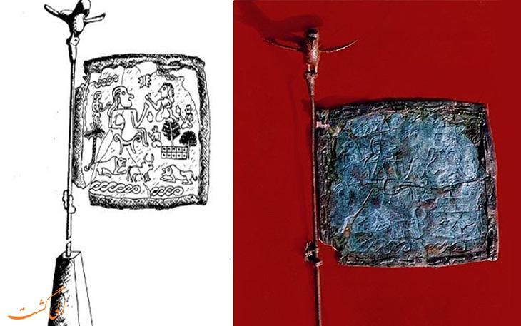 درفش شهداد قدیمی ترین پرچم جهان