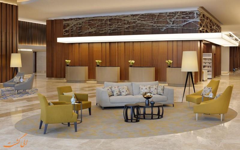 هتل 5 ستاره مریوت شیشلی استانبول