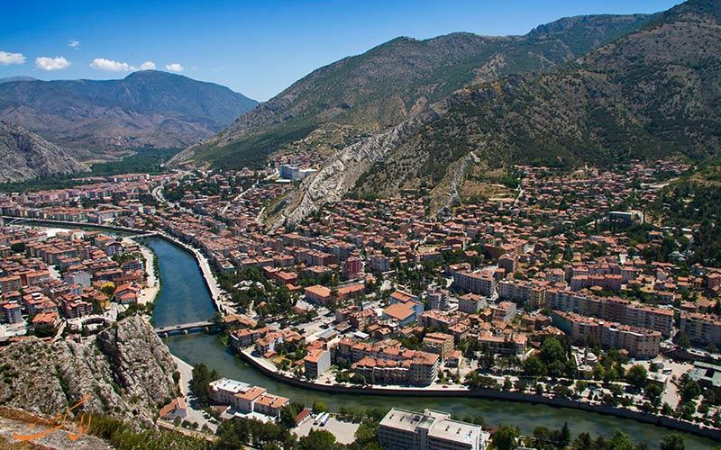 شهر آماسیا در ترکیه | Amasya