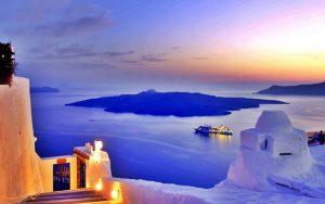 تاریخچه ی جزیره ی سانتورینی در یونان