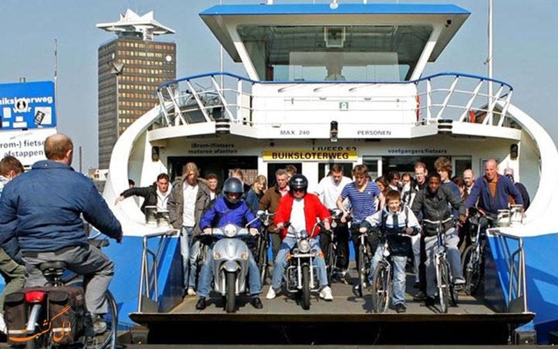 حمل و نقل عمومی در آمستردام