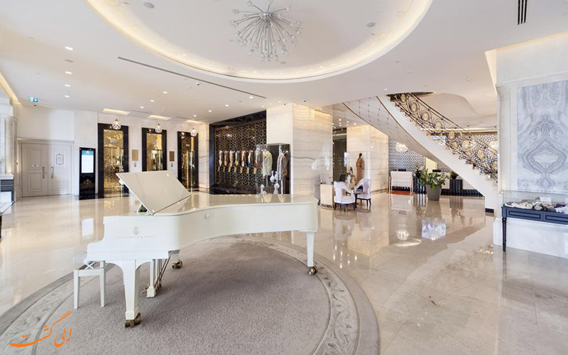 موقعیت هتل سی وی کی پارک بوسفر استانبول