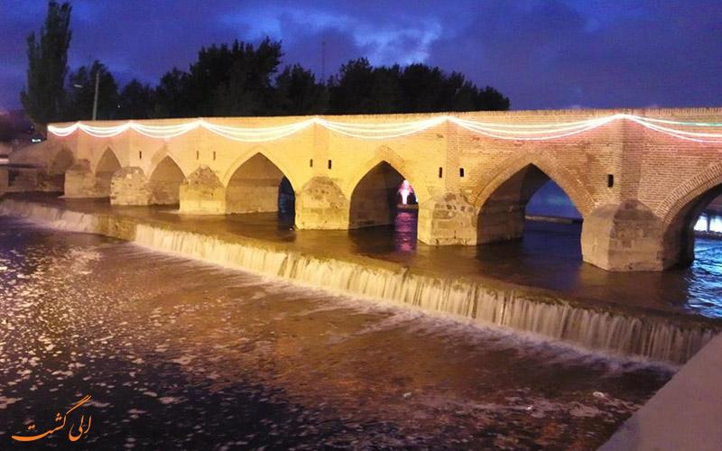 ● پل هفت چشمه (داش کسن) اردبیل | haft cheshmeh bridge (Dash Kasan)