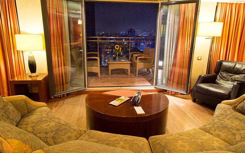 خدمات رفاهی هتل هالیدی این سیسلی استانبول