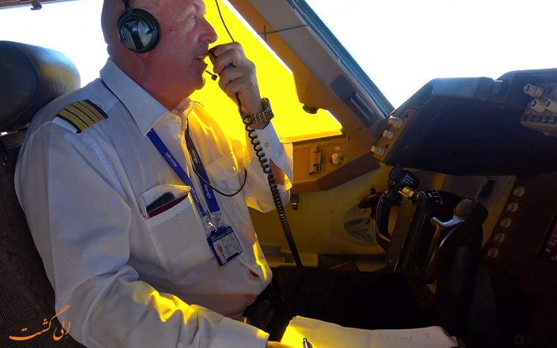 تجربه و ساعت های پرواز این دو خلبانان با یکدیگر متفاوت است