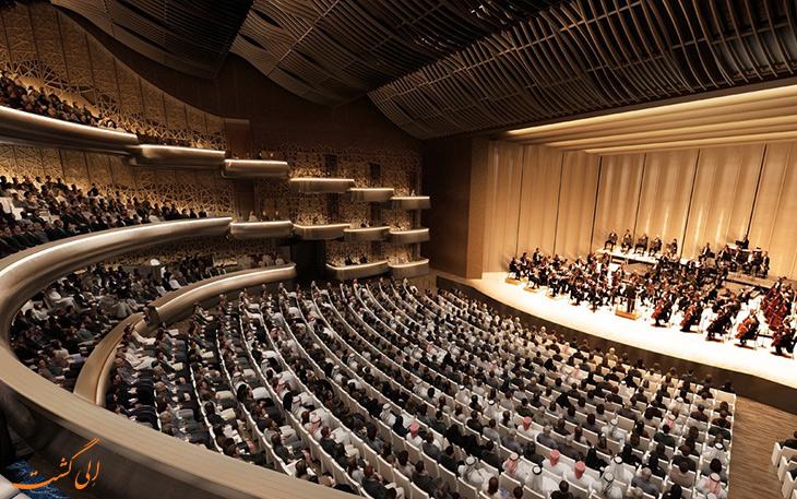 اجرا در سالن اپرای دبی