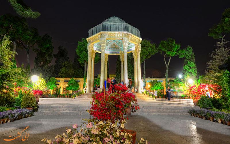 ● حافظیه   Tomb of Hafez