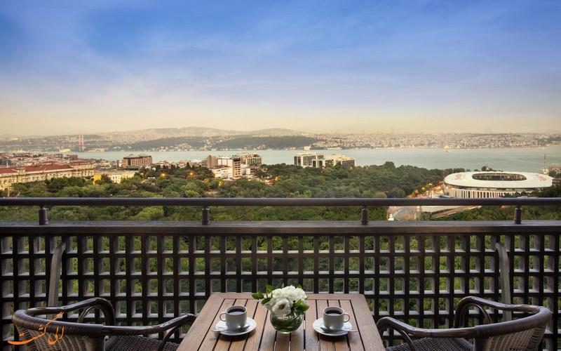 هتل 5 ستاره هیلتون بسفر در استانبول