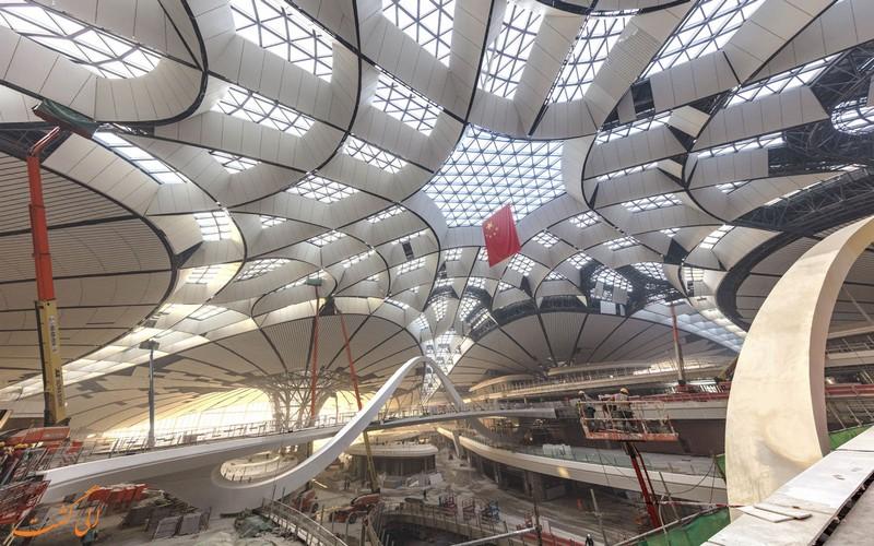 سقف ترمینال فرودگاه دکسینگ
