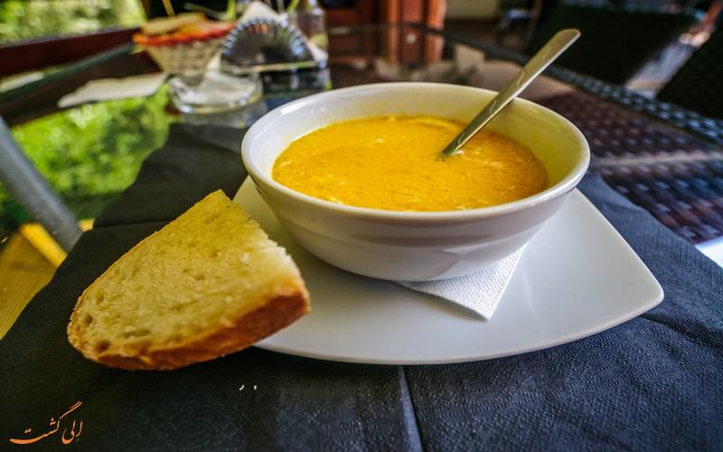 سوپ سیرابی