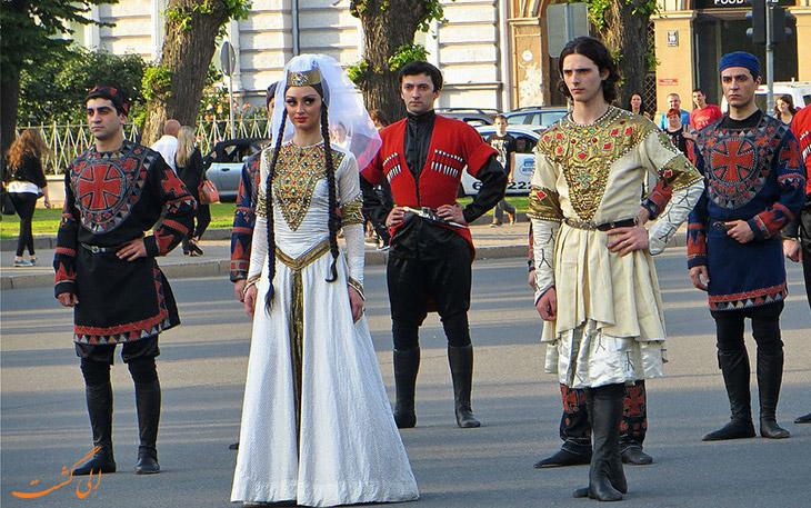 لباس سنتی تفلیس