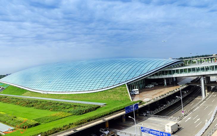 فرودگاه جدید چین