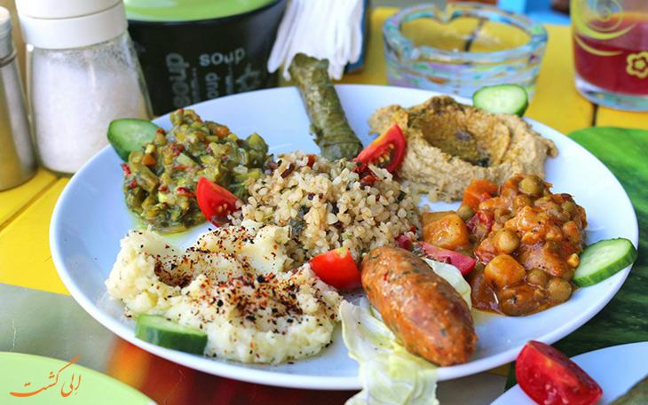 غذای گیاهی در استانبول