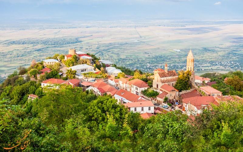 شهر توریستی سیغناقی گرجستان
